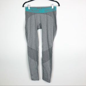 Gymshark Gray/ Blue Athletic Leggings